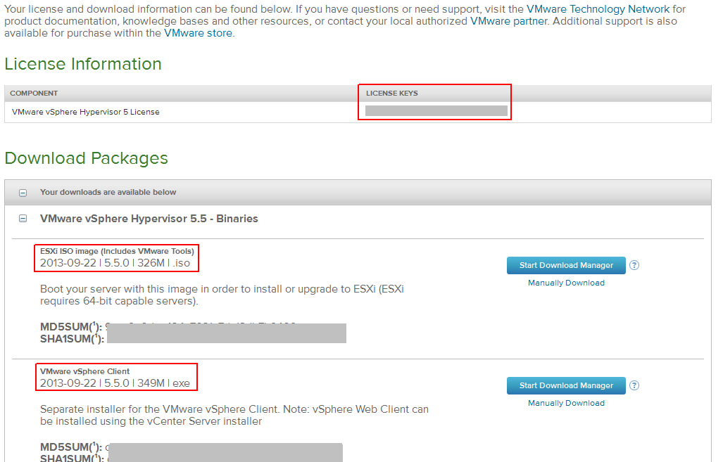 VMWare ESXi Server kostenfrei testen und nutzen (via Bootable USB